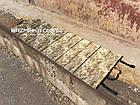 Каремат складной (аналог Бундесвер) 1800х600х10мм, фото 2