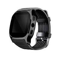 "Розумний годинник SUNROZ T8 смарт-годинник 1.54"" Чорний (SUN4162)"