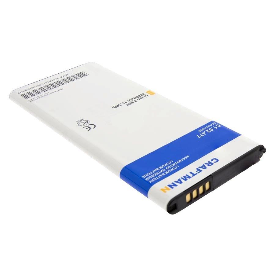 Аккумулятор батарея для SAMSUNG SM-N910C GALAXY NOTE 4 (EB-BN910BBE) Craftmann