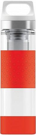 Термофляга SIGG Thermo Flask Hot & Cold Glass Red 0.4L. 8555.90