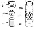Термофляга SIGG Thermo Flask Hot & Cold Glass Red 0.4L. 8555.90, фото 3