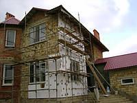 Утеплення фасаду пінопластом, фото 1