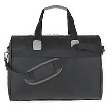 Дорожная сумка TONGSHENG саквояж синяя 50x34x22 ткань нейлон  ксТС508ч, фото 3