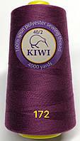 Швейные нитки №172 40/2 полиэстер Kiwi Киви 4000ярдов, фото 1