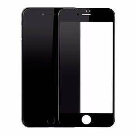 Защитное стекло 9D iPhone 7Plus/8Plus Black (полное покрытие)