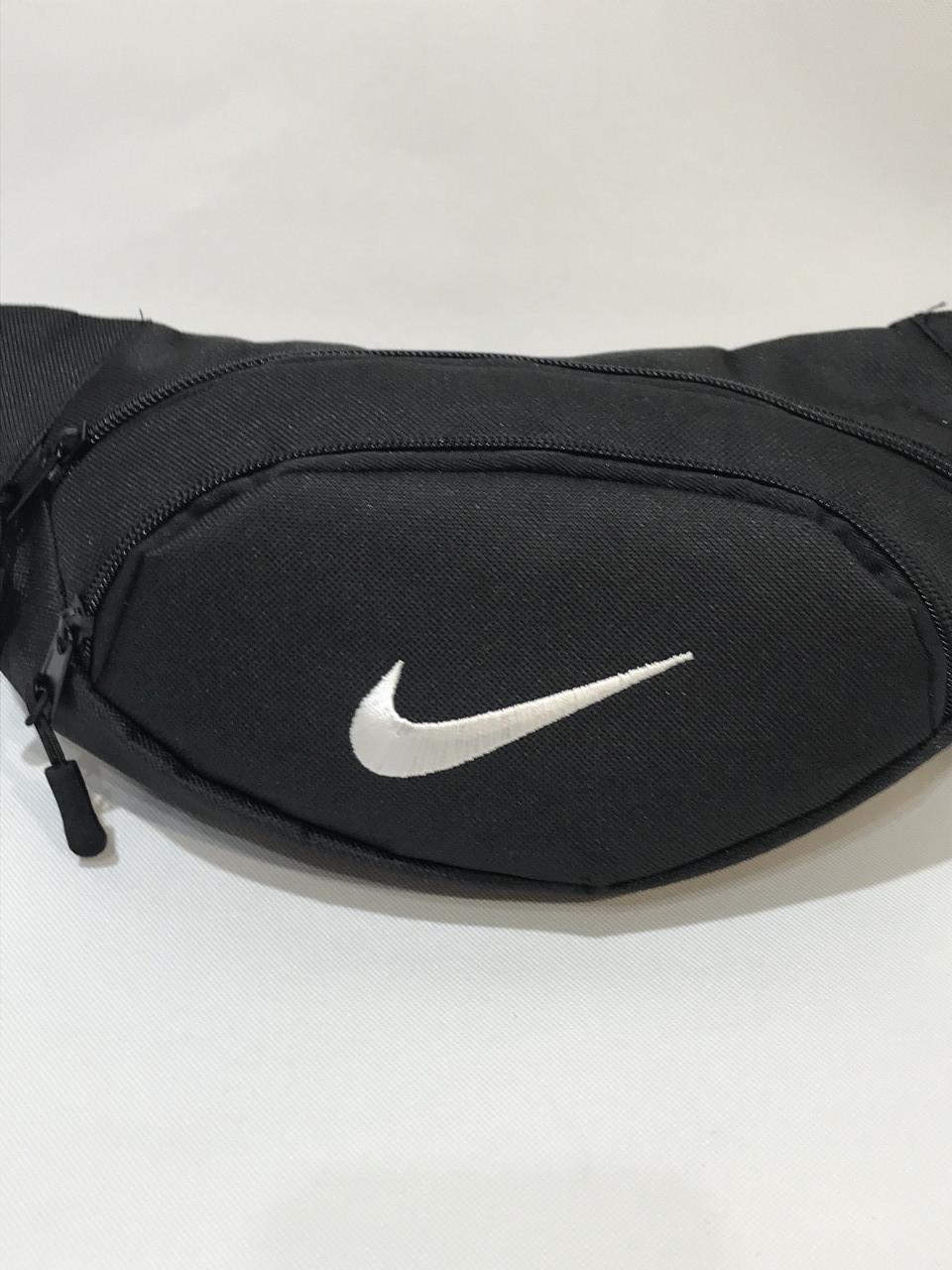 Поясная сумка  Nike / реплика черная