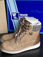 Натуральные зимние ботинки megasale White Mountain