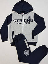 Спортивный детский костюм для мальчика на 6; 8; 10; 11 лет