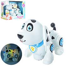Роботизована собачка, зі світловими і звуковими ефектами, 696-25