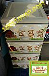 """Комод пластиковий Elif, з малюнком """"Ведмежата"""", 4 ящики (Еліф), фото 3"""