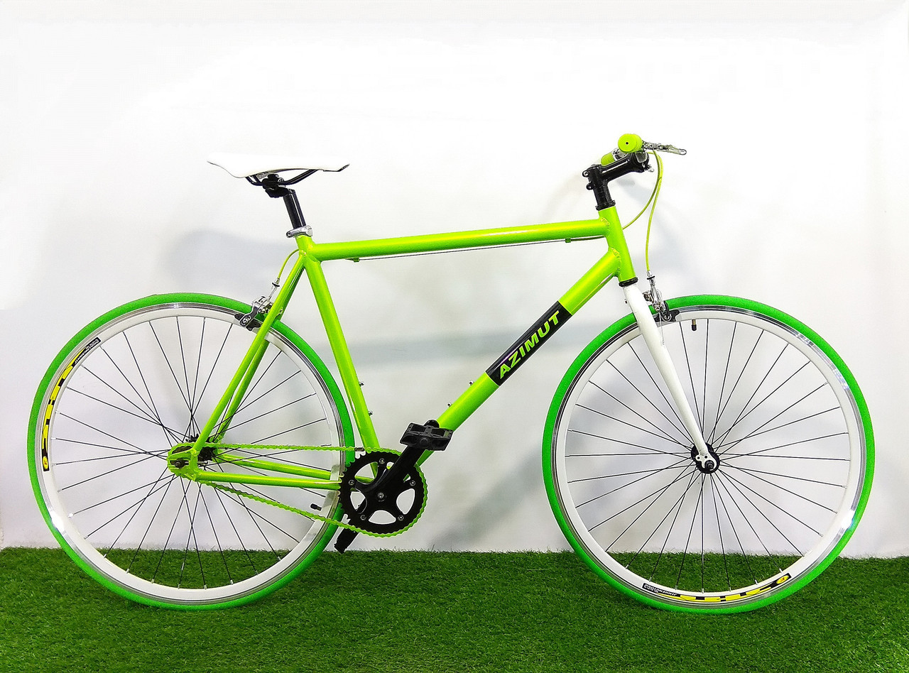 Городской велосипед Azimut Fixed Gear Bike