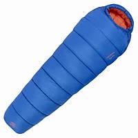 Спальный мешок Highlander Skye 450/-16°C Blue/Orange (Left) 926384, синий