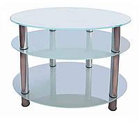 Стеклянный столик под ТВ-30