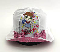 Детская панамка 50 и 52 размер для девочки детские панамки головные уборы хлопок панама, фото 1