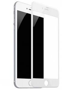 Защитное стекло 9D iPhone 7Plus/8Plus White (полное покрытие)