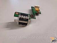 USB роз'єми та кнопка включення для ноутбука IBM Lenovo ThinkPad R60, 48.4e605.02m, б/в