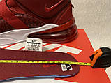 Кросівки Nike Air Force 270 Red Croc Оригінал AH6772-600, фото 7