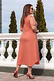 Літнє плаття жіноче великого розміру 50.52.54.56, фото 2