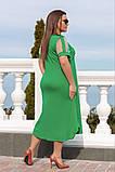 Літнє плаття жіноче великого розміру 50.52.54.56, фото 3