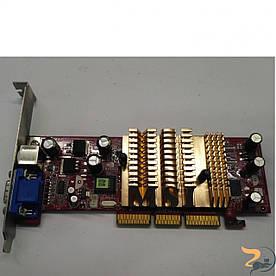 Відеокарта MSI MX4000-T64, 64MB AGP, NA-52000-TD16, DDR, VGA, Б/В, протестована, повністю робоча