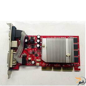 Відеокарта Nvidia FX5200, 128MB AGP 8X, NA-52000-TD16, DDR DVI+TV-out, Б/В, протестована, повністю робоча