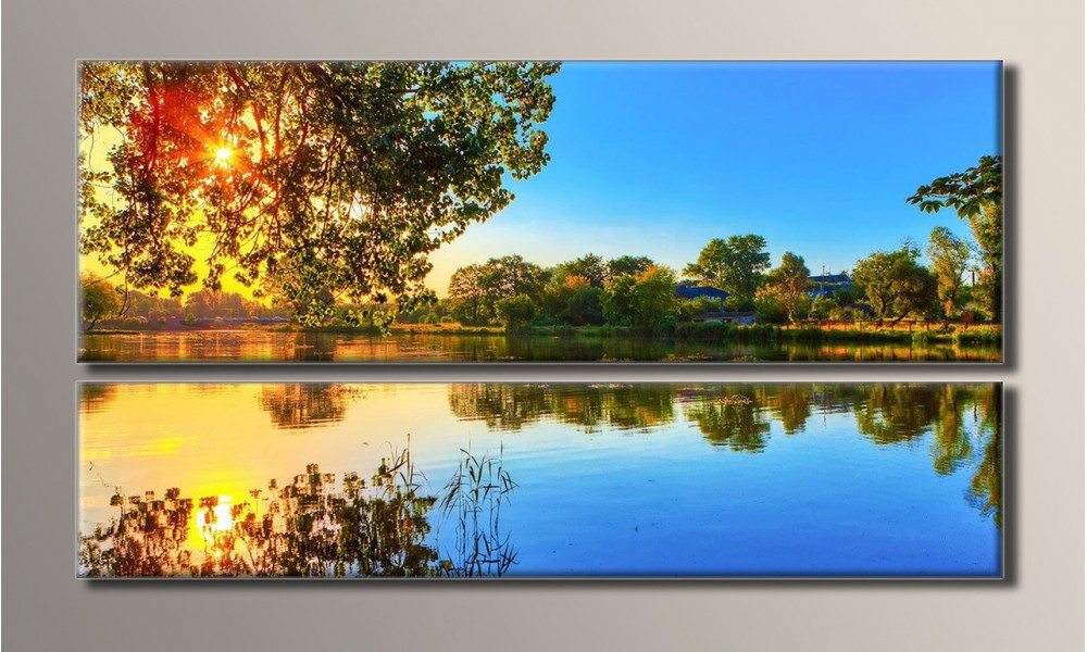 Модульная картина Восход солнца 49,5х89 см (HAD-002)
