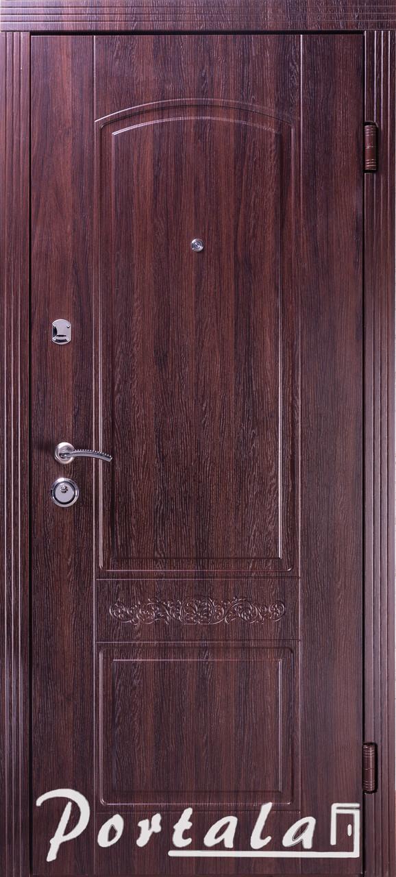 """Входная дверь для улицы """"Портала"""" (Люкс Vinorit) ― модель Каприз"""