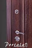 """Входная дверь для улицы """"Портала"""" (Люкс Vinorit) ― модель Каприз, фото 2"""