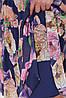 Летнее платье из креп-шифона 48 по 56 размер, фото 10