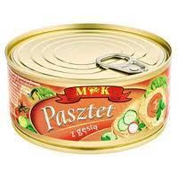 Паштет курячий Pasztet drobiowy MK Польща 300г