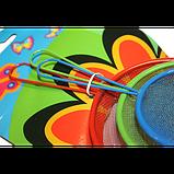 Сито кухонне кольорове Набір 3 шт 5.5-7-8.5 см, фото 2