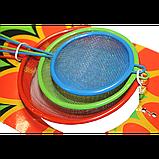 Сито кухонне кольорове Набір 3 шт 5.5-7-8.5 см, фото 3