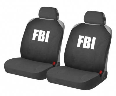 Накидки для автомобильных сидений Hadar Rosen HOTPRINT FBI Черный 21153, фото 2