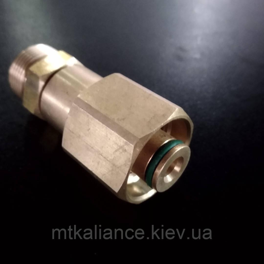 Переходник для профессиональных аппаратов высокого давления Керхер М22 х1.5 - М22 Easy!Lock