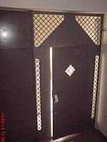 Входная дверь с системой контроля доступа