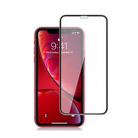 Защитное стекло 9D iPhone Xr (полное покрытие)