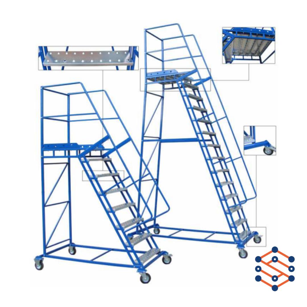 Лестница для склада без полки