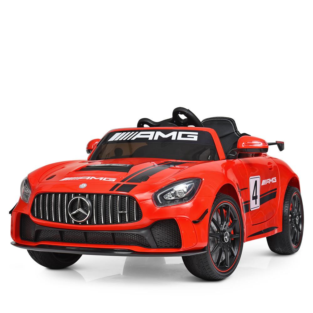 Электромобиль детский Mersedes AMG M 4050EBLR-3 красный Гарантия качества Быстрая доставка