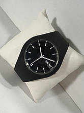 Часы наручные в стиле Skmei Rubber black