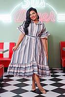 Платье женское батал  Алена, фото 1