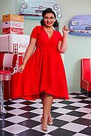 Платье женское батал  Чикаго, фото 1