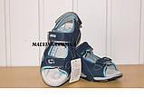 Босоножки на мальчика 33,34,35 р арт 2009 синие  Jong-Golf, фото 4