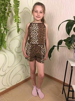 Летний полукомбинезон детский Размер 110 - 140 см