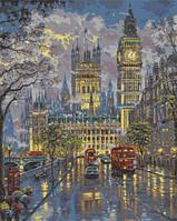 Картина по номерам Дворец Вестминстер КНО1151 Идейка