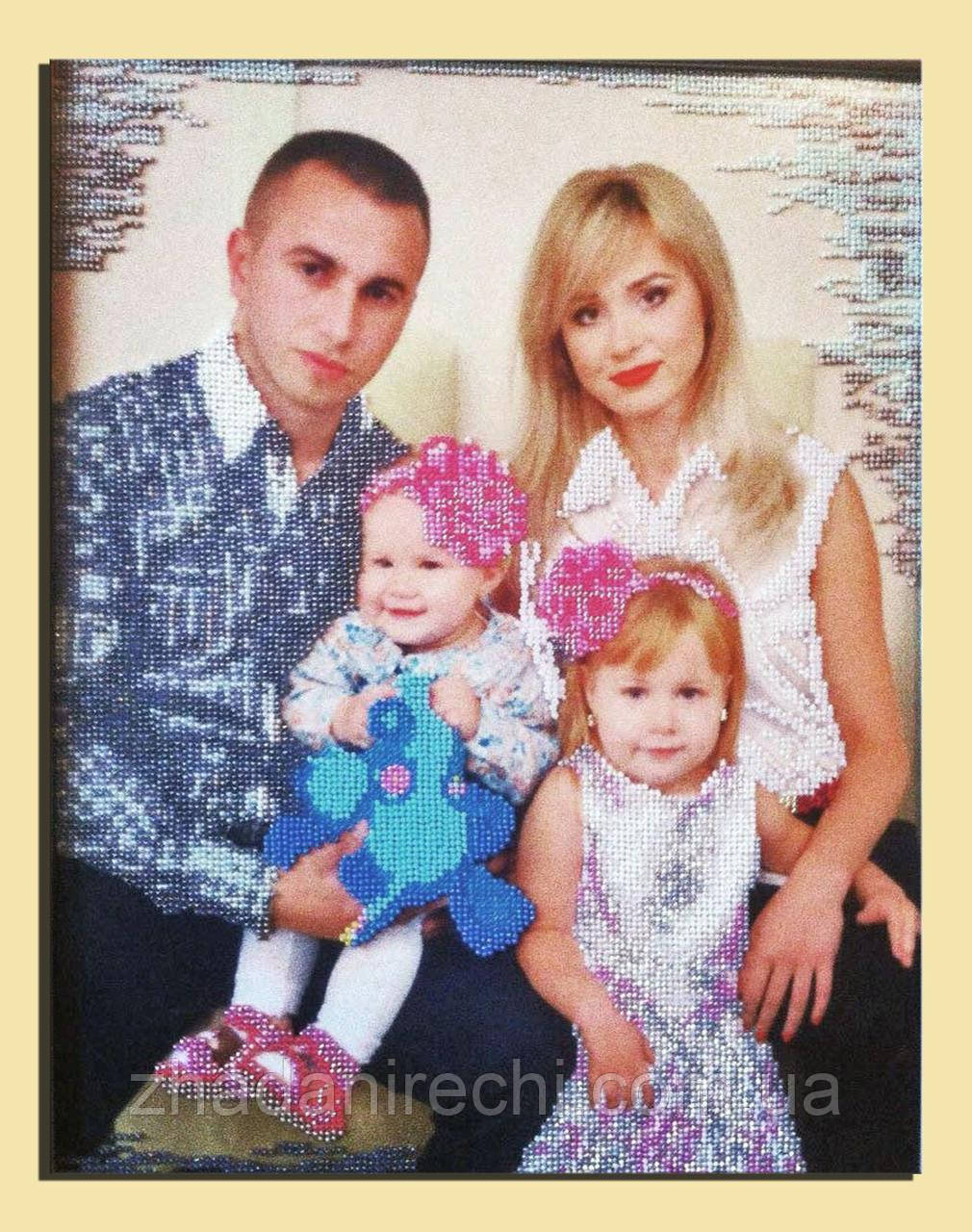 """Схемы для вышивки """"Семейные портреты"""""""