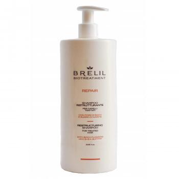 Brelil Biotraitement Repair Шампунь восстановление структуры волос 1000мл