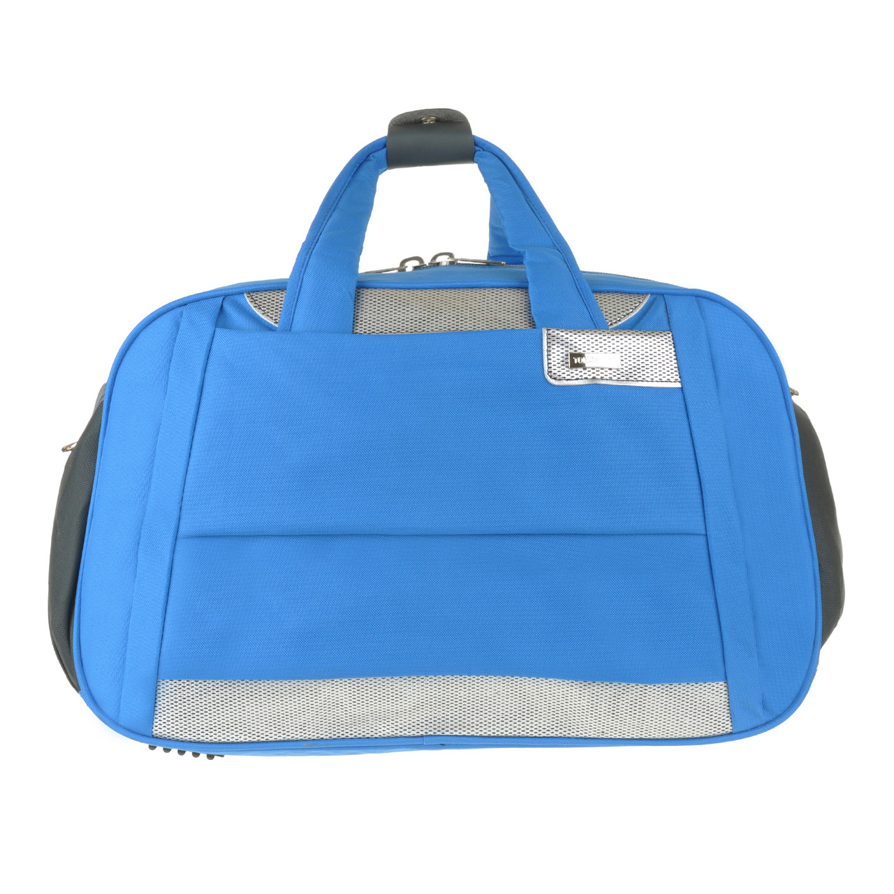 Дорожня сумка TONGSHENG голубая 54х34х20  полиэстер на ПВХ основе кс99929гол