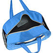 Дорожня сумка TONGSHENG голубая 54х34х20  полиэстер на ПВХ основе кс99929гол, фото 2