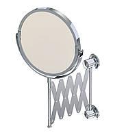 Зеркало косметическое для ванной, гармошка, Andex