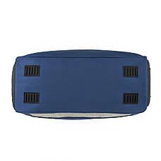 Дорожня сумка TONGSHENG  54х34х20 синяя полиэстер на ПВХ основе кс99929син, фото 3